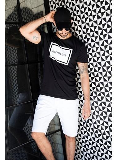 Buratti Buratti Bisiklet Yaka Erkek T-Shirt 5721003 Siyah